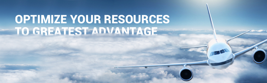 Optimize your resources to greatest advantage